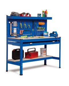 Etabli avec panneau à outils et grand tiroir