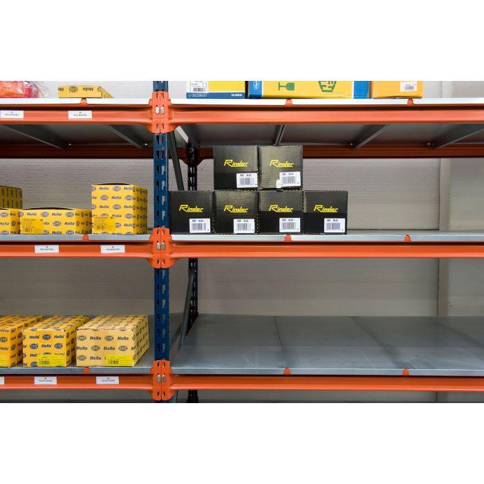 estanterías cargas pesadas paneles metálicos